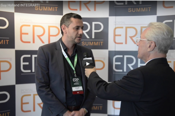 Confira a entrevista de Guy Holland no ERP Summit
