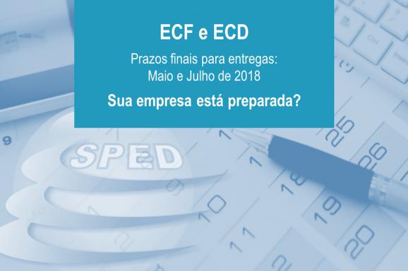 Empresas devem se preparar quanto as mudanças nas entregas de ECF e ECD